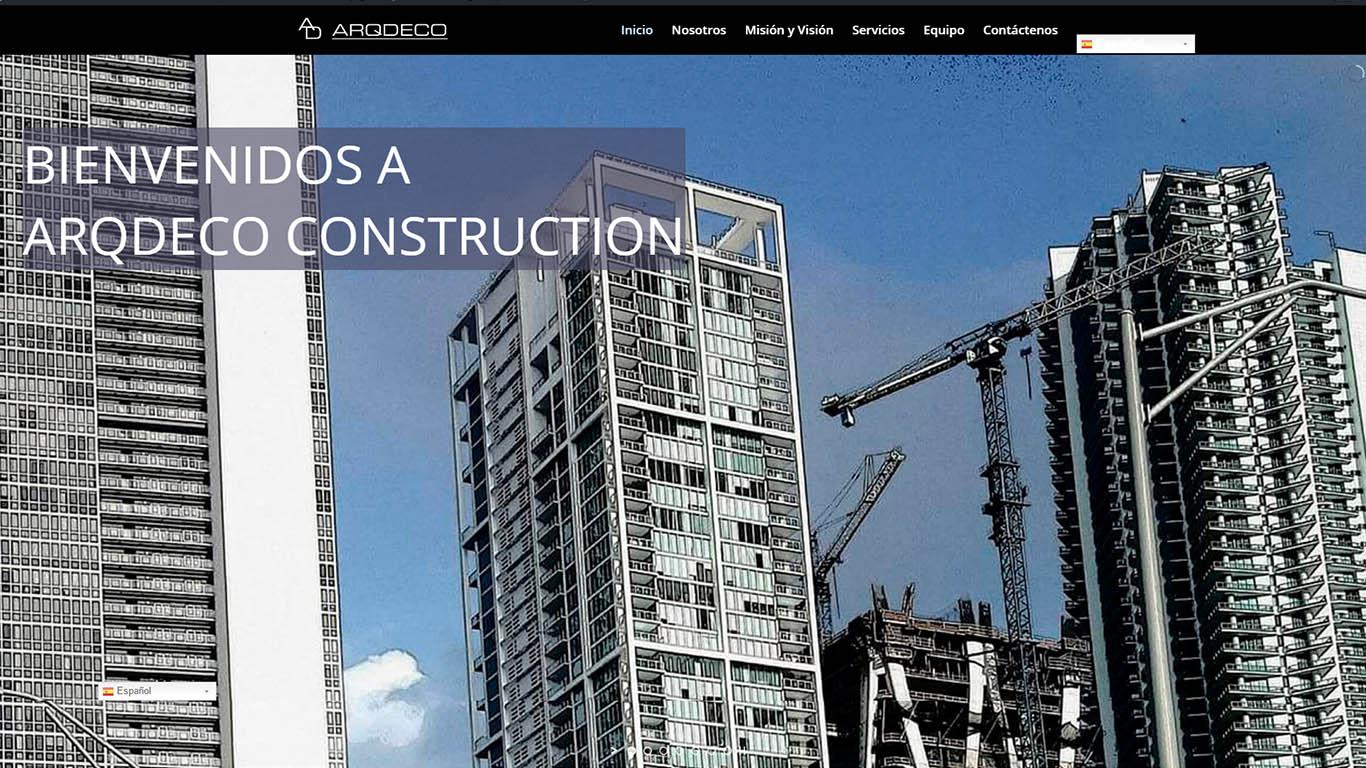 ARQDECO CONSTRUCTION S.A.